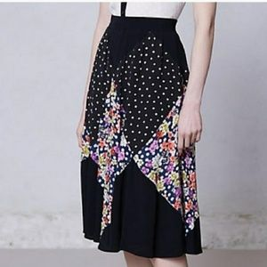 Anthropologie Skirts - Maeve/Anthro - Diamond Mosiac floral skirt - L